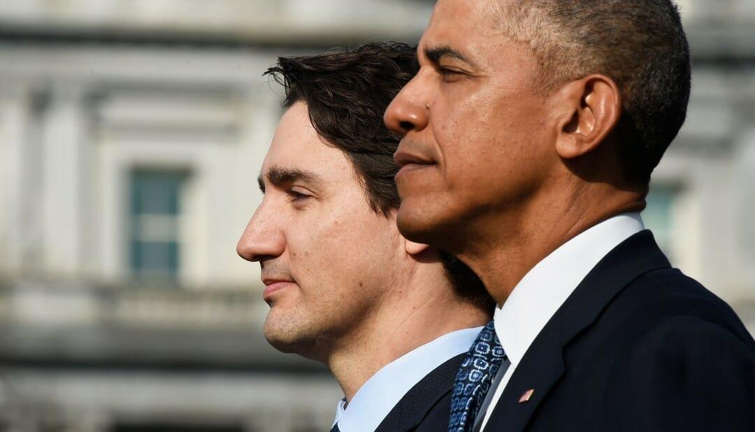 Обама, Трюдо, США и Канада, нефтяные скважины, Артктика