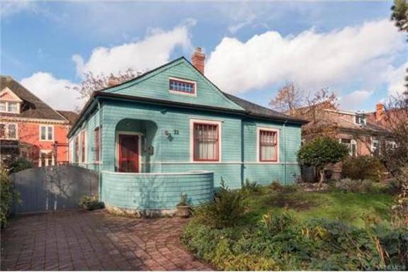 недвижимость в Канаде, дом в Виктории