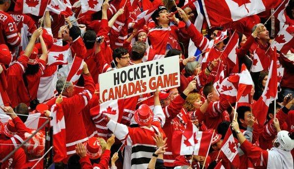 канадские хоккейные болельщики, стереотипы о Канаде