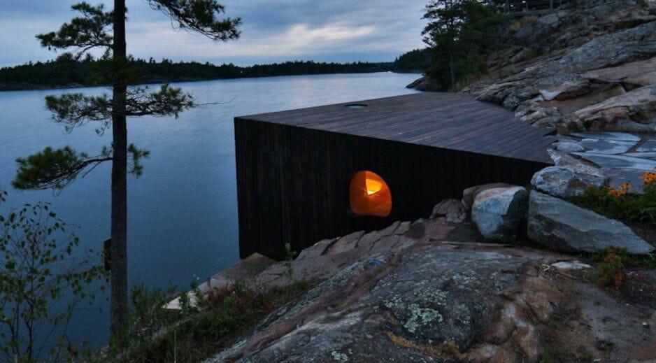 шикарная сауна, туризм Канада, что посмотреть в Канаде, отдых Канада
