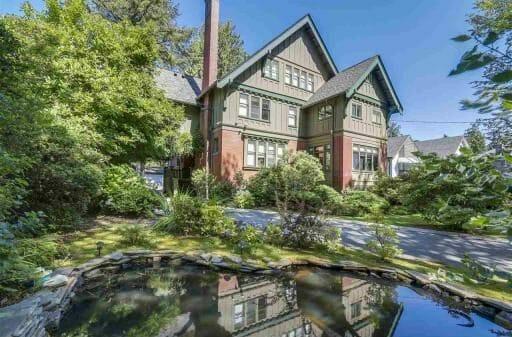 дом в Ванкувере, самая дорогая недвижимость Канады