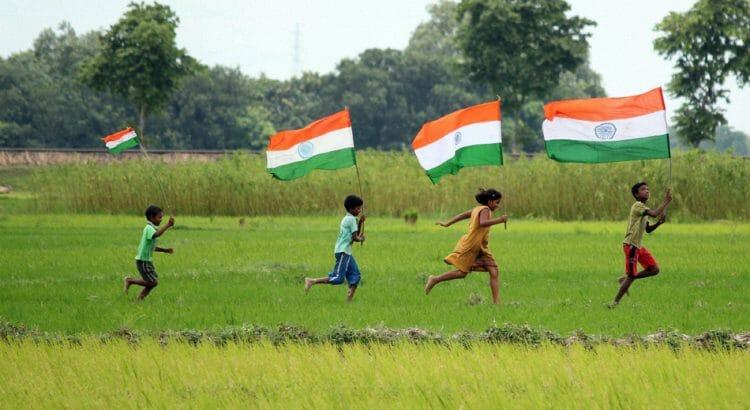 Индия, флаг, дети, Канада, иммиграция, иммигранты, переезд