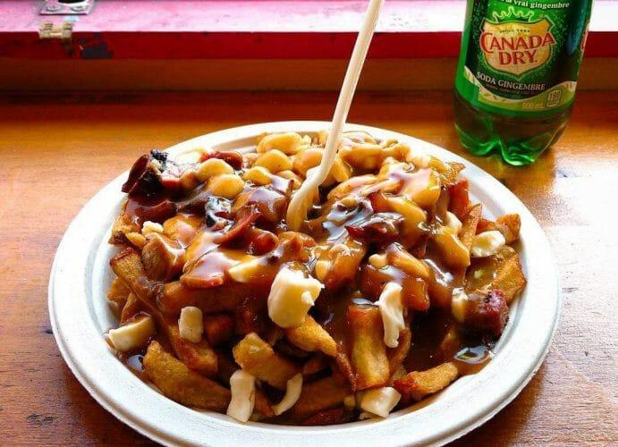 путин Канада, poutine, канадское блюдо, Ванкувер