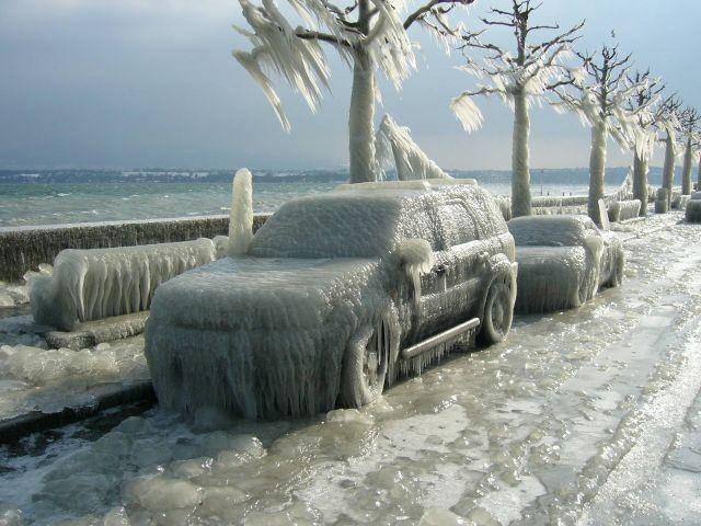 ледяной шторм, Канада, фотоприкол, эмор