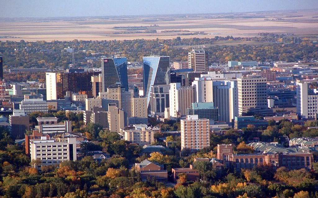 Regina, работа в Канаде, лучшие города Канады