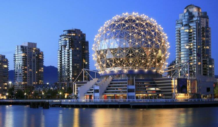 мир науки Ванкувер, достопримечательности Ванкувера