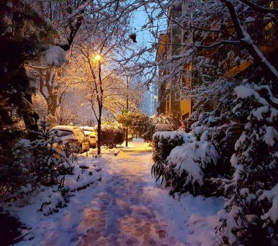 зима в Ванкувере, снегопад Ванкувер, рекорд