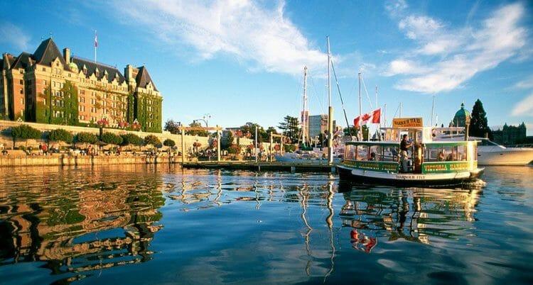Город Виктория, Канада