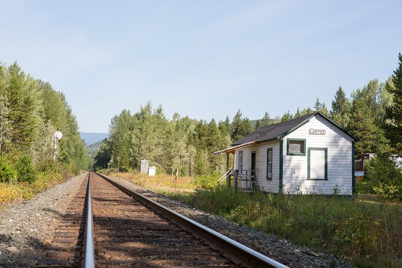 город призрак Канада, Dorreen, заброшенные места, Ванкувер