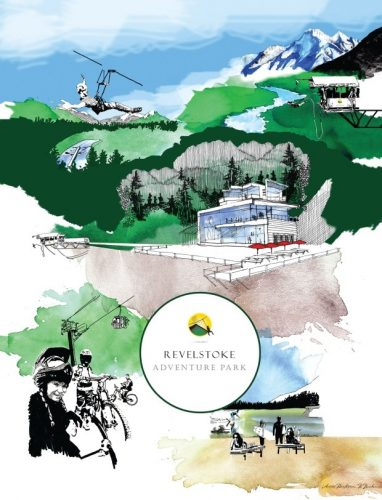 Revelstoke Adventure Park,парк развлечений Ревелсток, Канада, Британская Колумбия, парки Канады