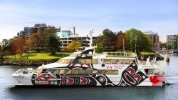 v2v empress, Ванкувер Виктория, паром, судно, как добраться в Ванкувер из Виктории
