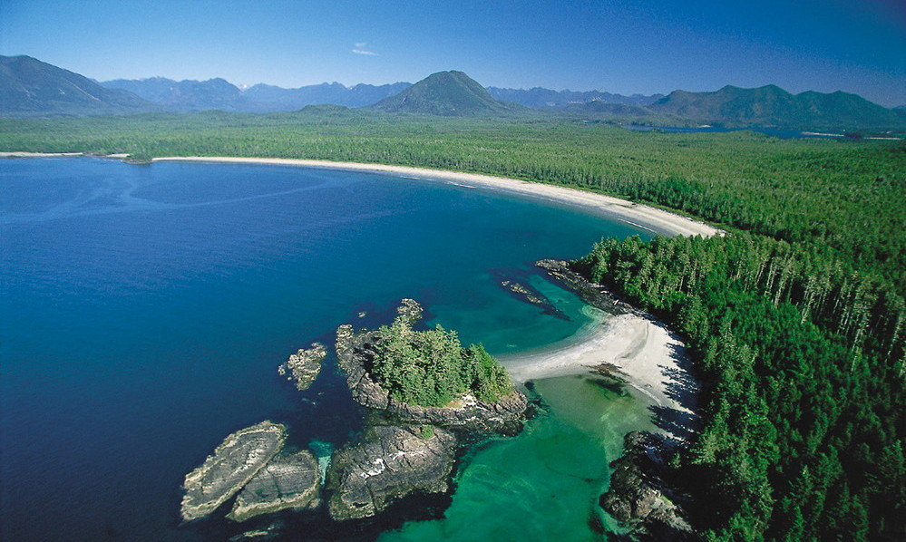 береговая линия Канады, факты о Канаде, Британская Колумбия