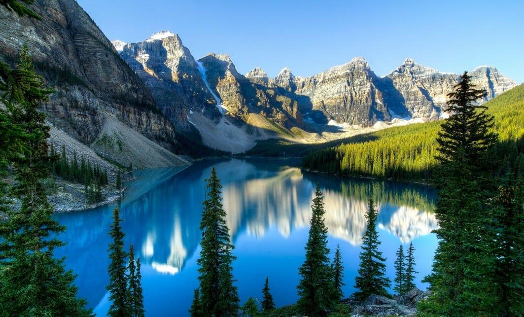 скалистые горы, Канада, природные чудеса Канады, стоит увидеть