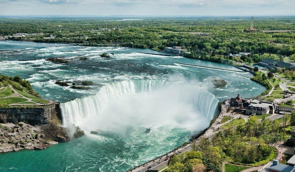 ниагарский водопад, Онтарио, Канада, нужно посетить, места