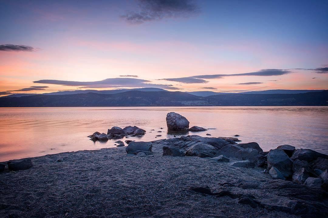 озеро оканаган Келоуна