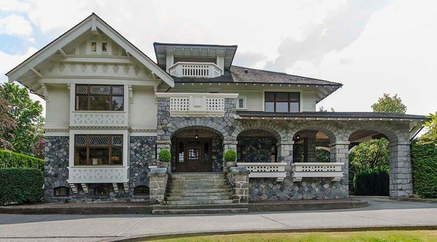 Ванкувер, недвижимость, дорогие дома Канада