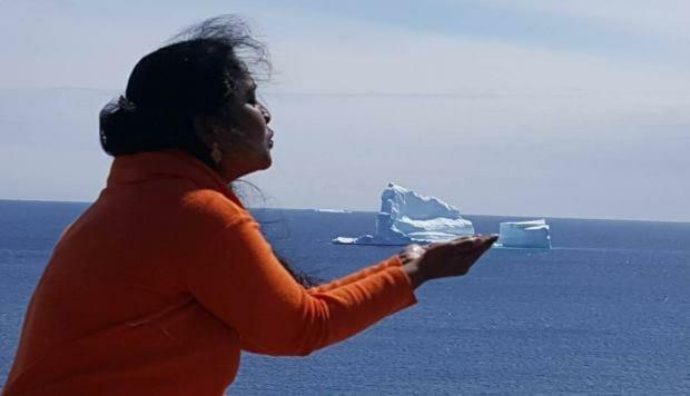 Массивный айсберг заметили у побережья Ньюфаундленда