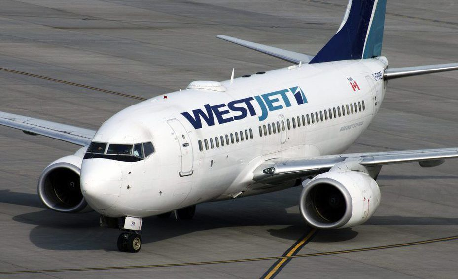westjet возврат