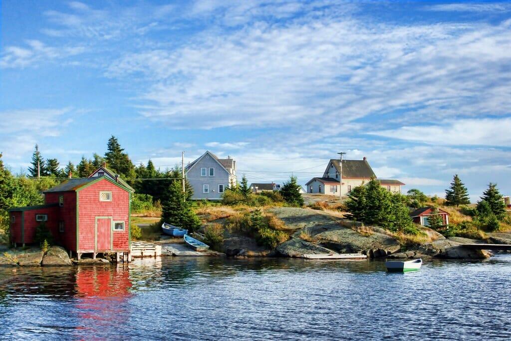 красивые деревни в Канаде
