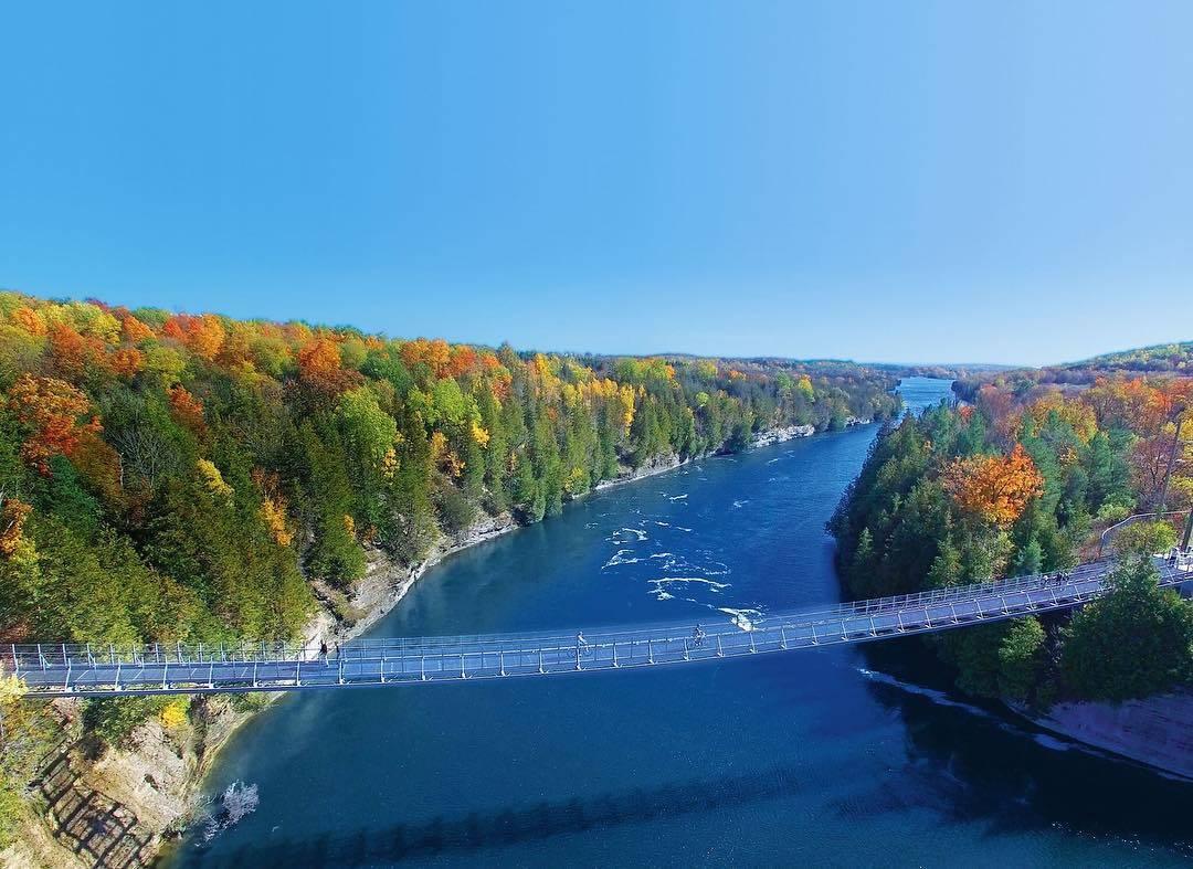 подвесной мост в Канаде, Онтарио