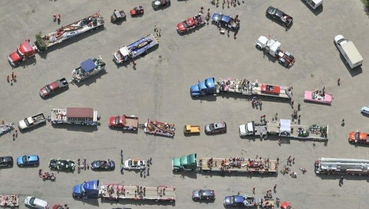 фото Канады с высоты птичьего полета