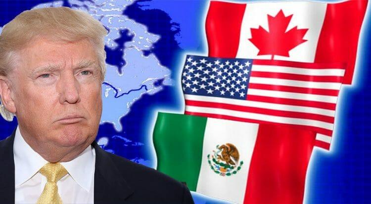 нафта, США, кАНАДА, мЕКСИКА