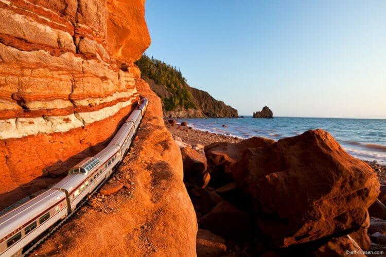 красота Канады, проект поезд