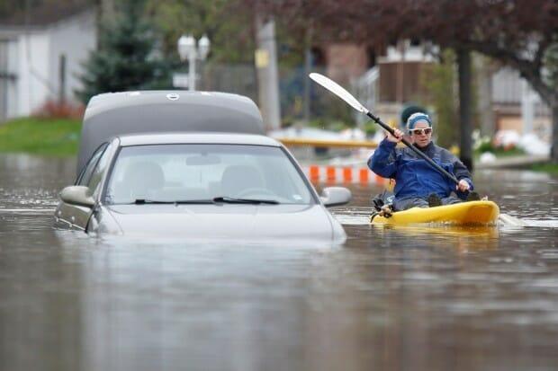наводнение в Канаде