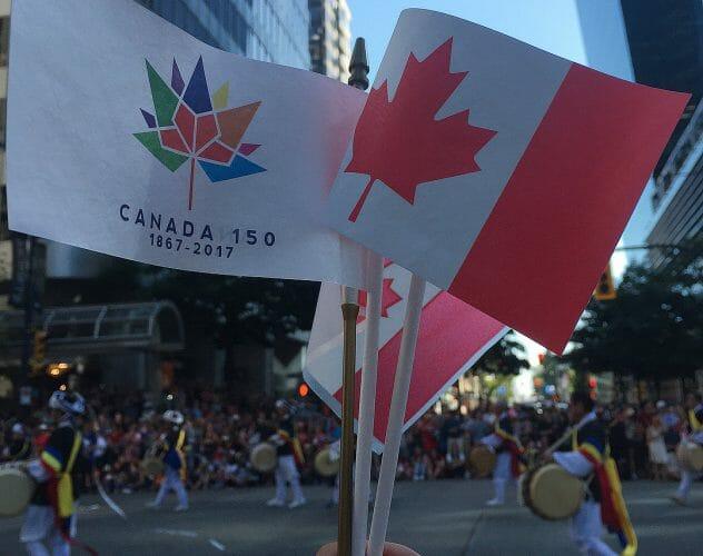 parade canada day 150 vancouver