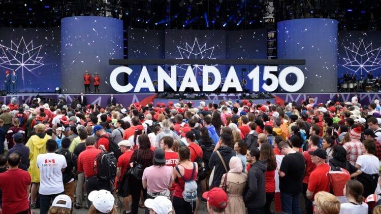 юбилей Канады (фото)