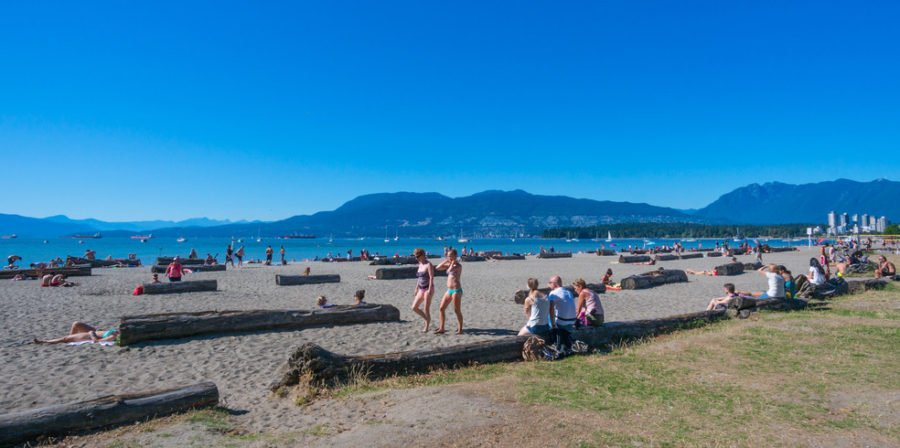 пляж ванкувер