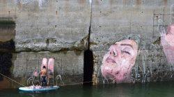 граффити которое тонет