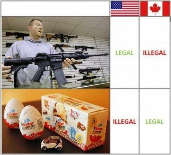 kinder нелегален в США