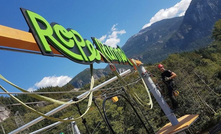 парк Rope Runner Aerial Adventure Park,