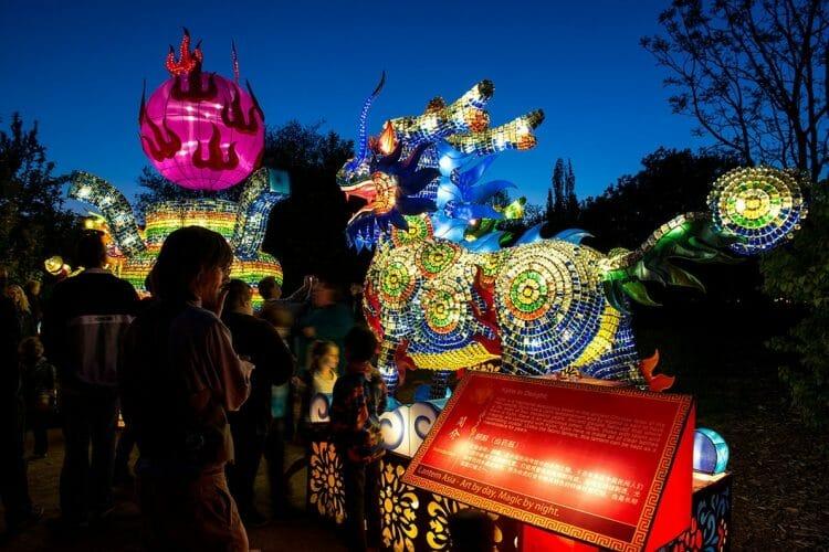 китайский фестиваль в Ванкувере