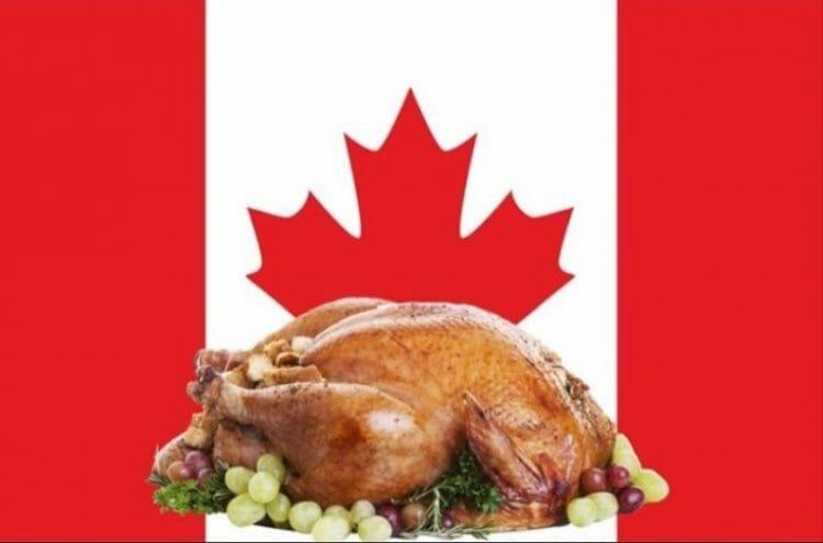 день благодарения в Канаде