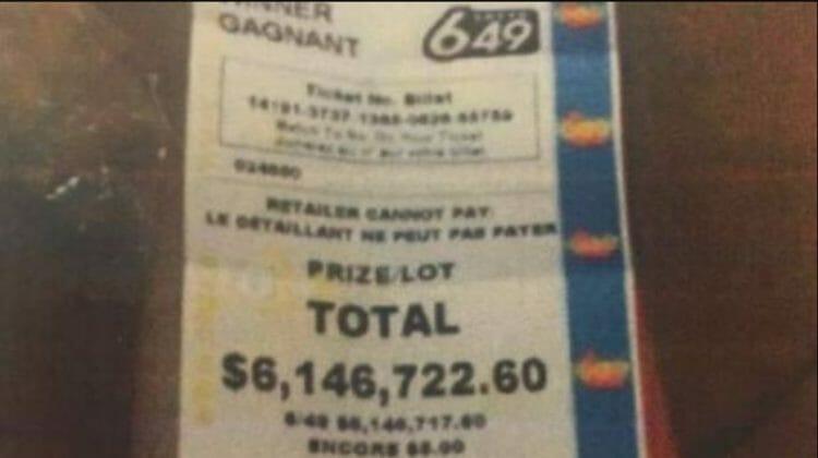 новости Канады, лотерея, парень сбежал