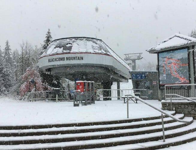 снегопад Уистлер