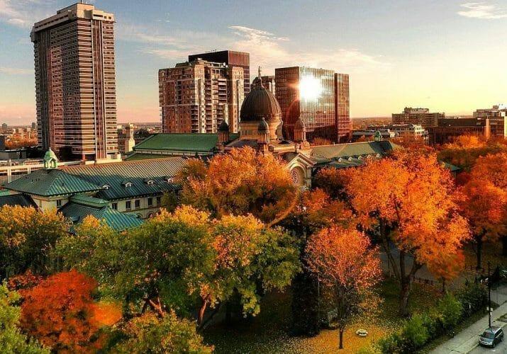 Монреаль осенью