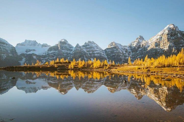 осень в Парке Банф, Канада