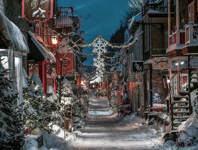 старый город Квебека