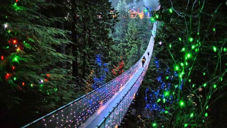рождество мост Капилано