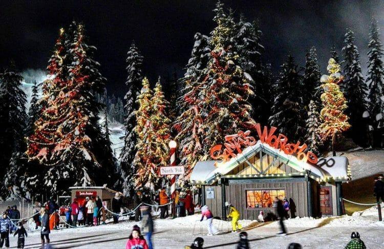 рождество в Ванкувере, Британская Колумбия