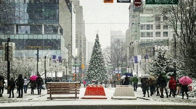 рождество в Канаде