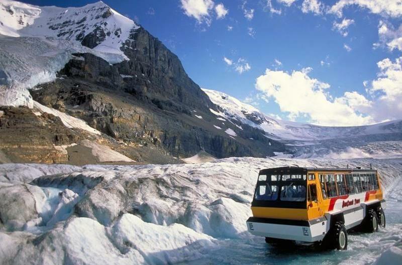 Icefields Parkway Канада