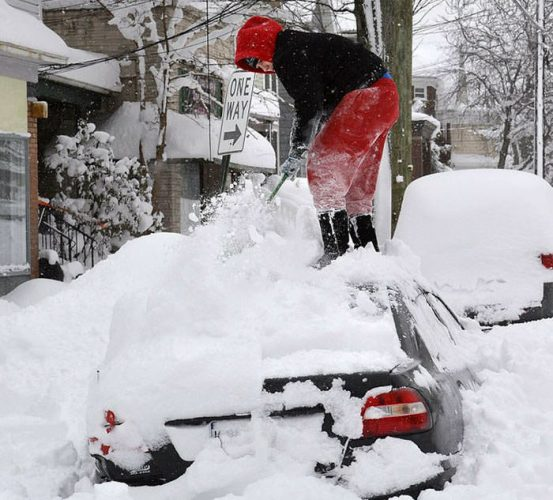 холода в Канаде