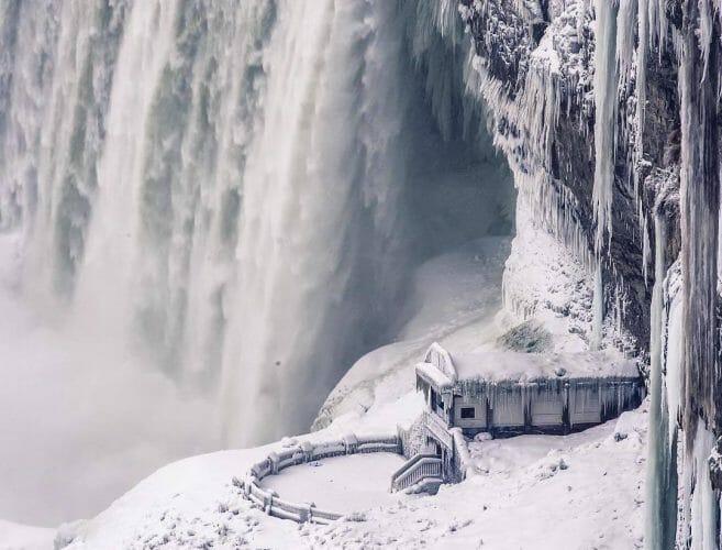 красивое фото ниагарского водопада