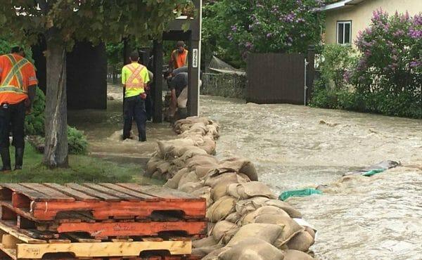 наводнение Канада