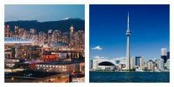 Торонто или Ванкувер,