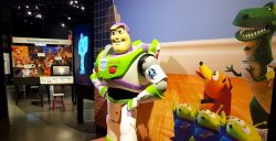 Pixar exhibition at Science World